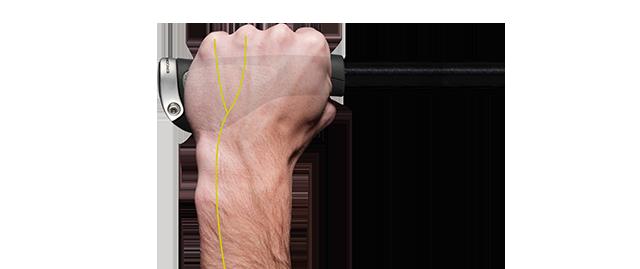 Der Ergon GP Touring Griff verhindert schmerzende Hände
